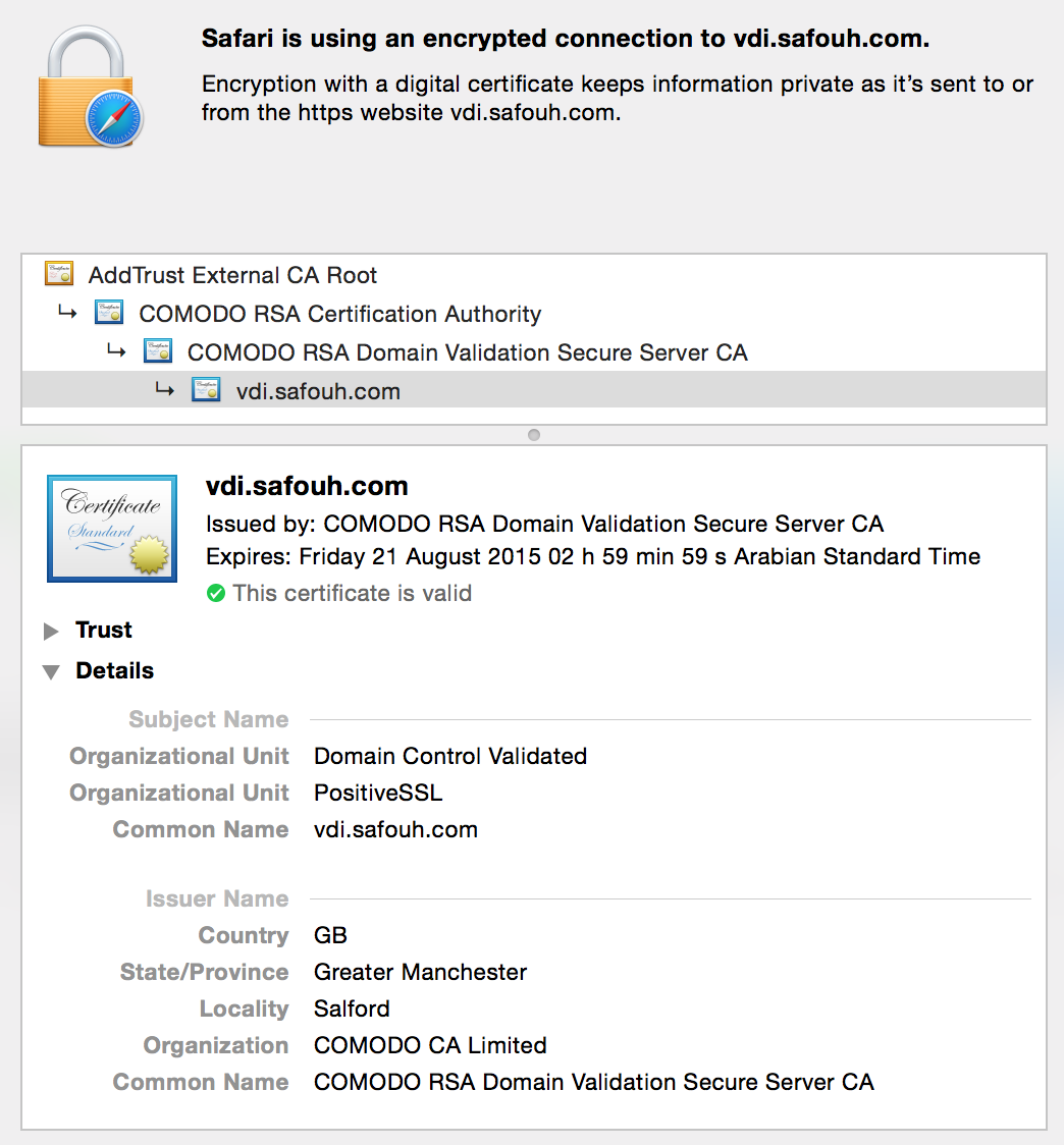 Create Configure Ssl Certificate For Vmware View Security Server